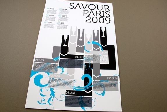 Contemporary Wine Tasting Flyer Template-- Promote a wine tasting - contemporary flyer