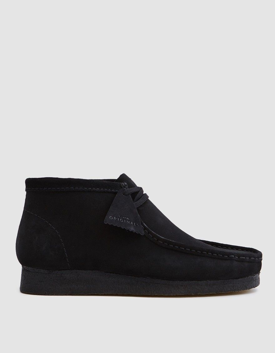 Clarks wallabees, Mens suede boots