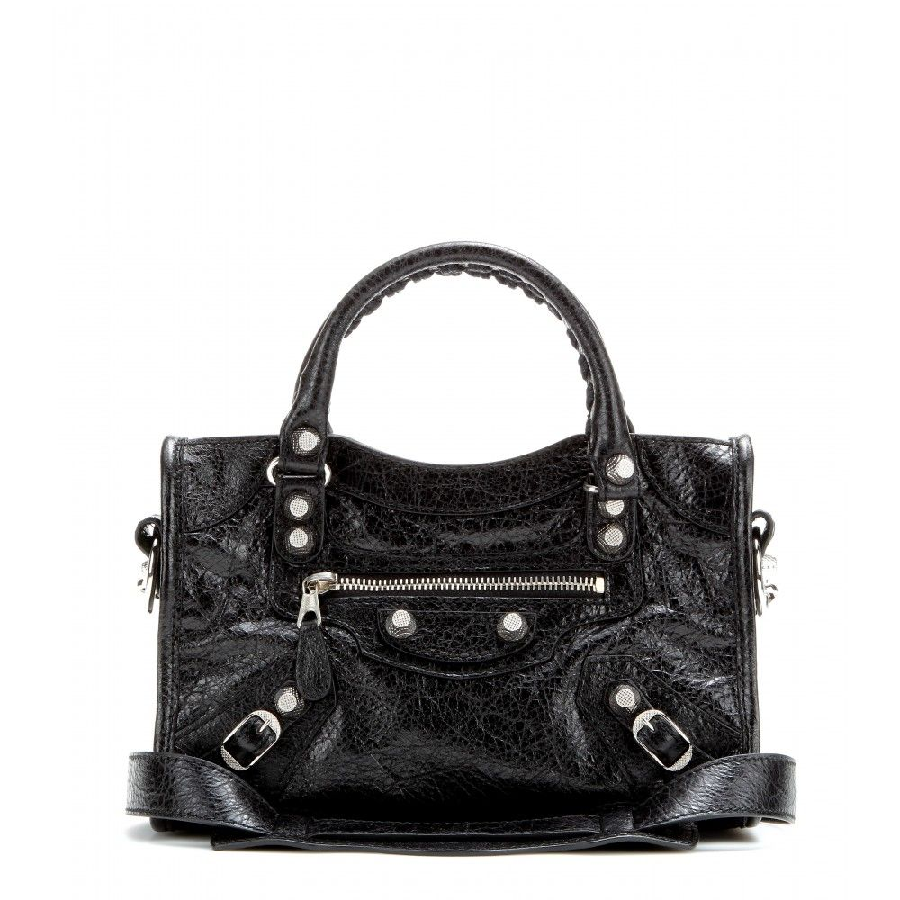 551c0a3505 Balenciaga - Classic Mini City leather shoulder bag - Balenciaga ...