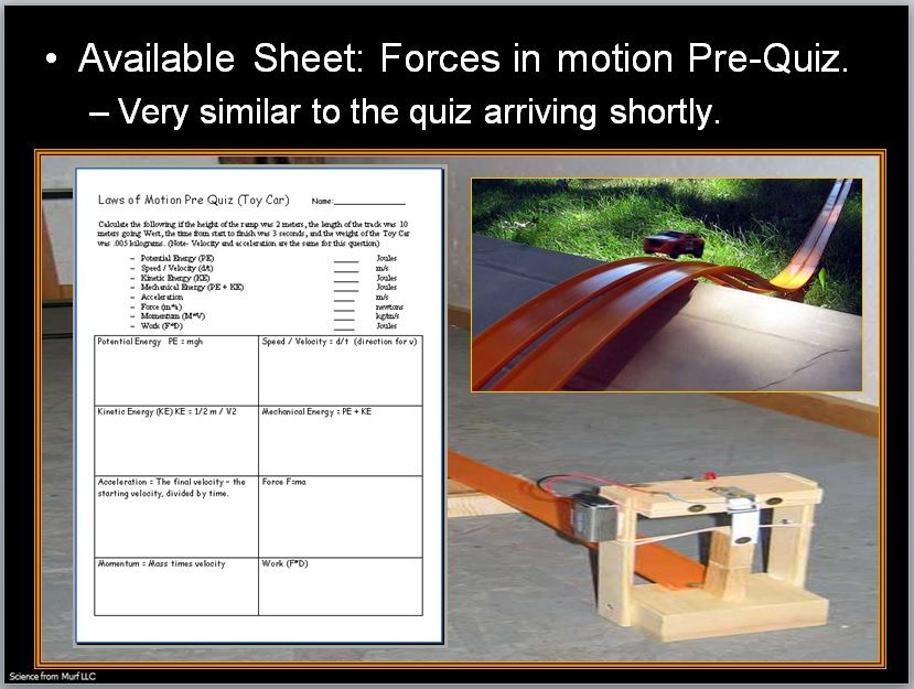 Newton's Laws of Motion and Forces in Motion Unit   Webelos