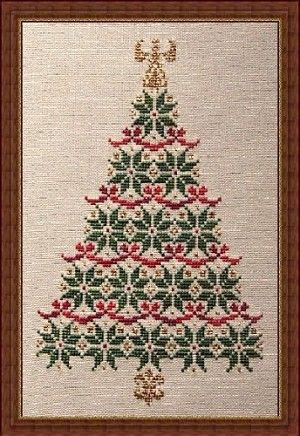 Free Printable Christmas Ornament Cross Stitch Patterns.Free Printable Cross Stitch Pattern Of A Tree Simply