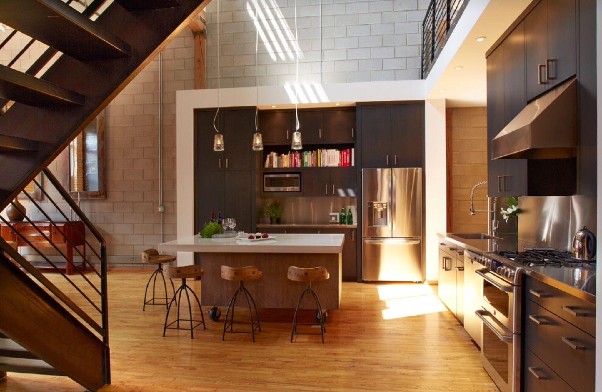 Lujo Cocina Comedor Houzz Diseño Imagen - Como Decorar la Cocina ...