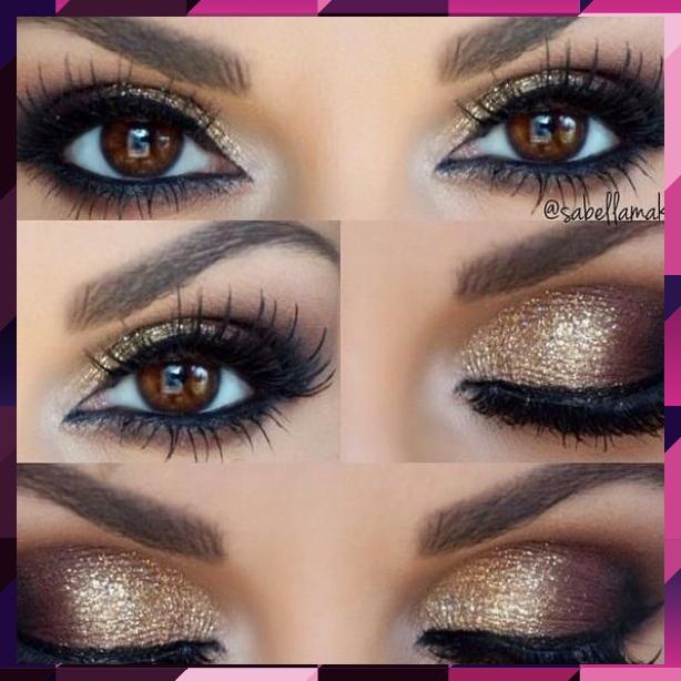 Wie Rock Makeup für braune Augen (MakeupIdeen & Tutorials