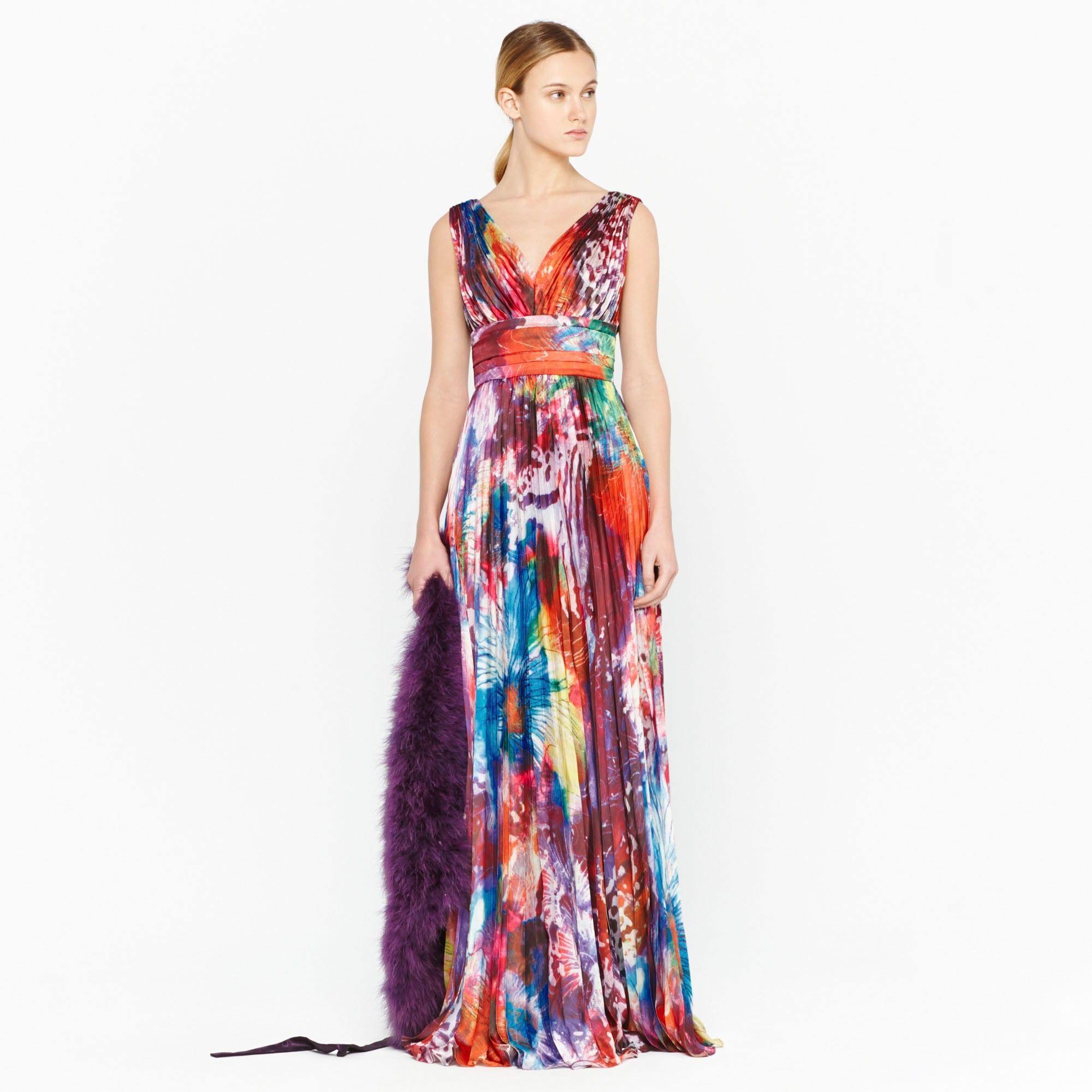Vestido de c ctel p rpura escote v p rpura ad mujer for Vestidos adolfo dominguez outlet online