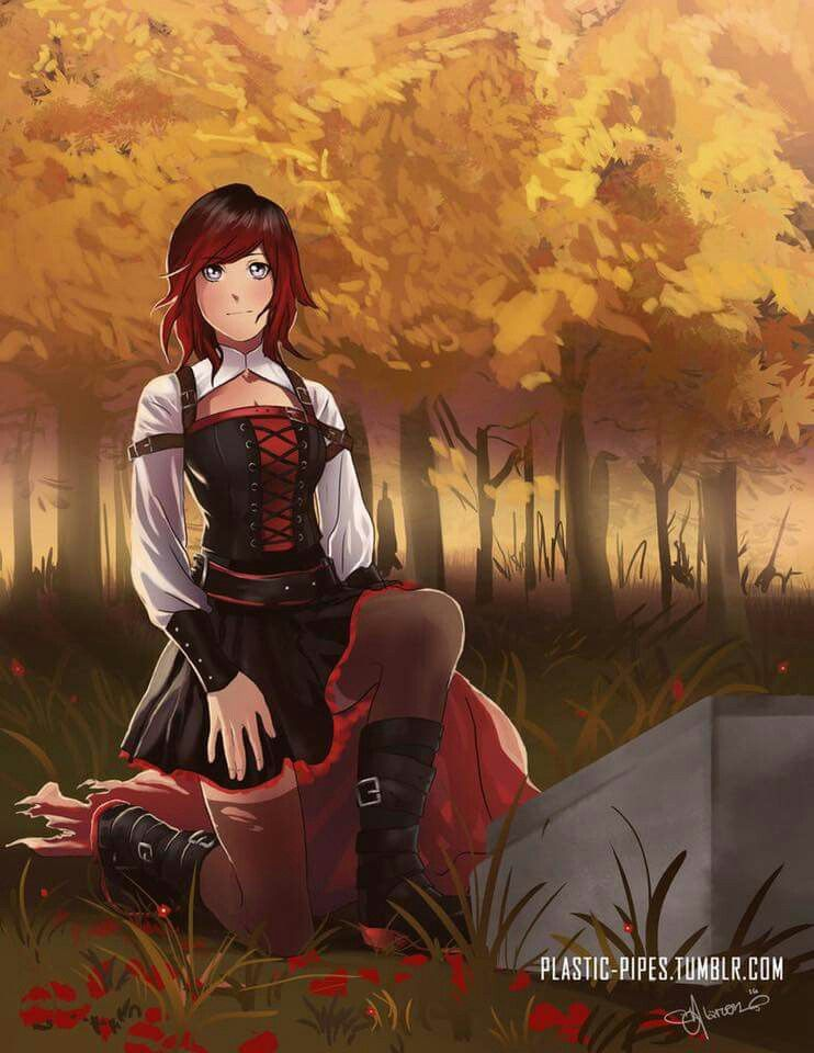 Ruby / Red - Once Upon A Time by Nikitwinaki on DeviantArt  |Ruby Red Fan Art