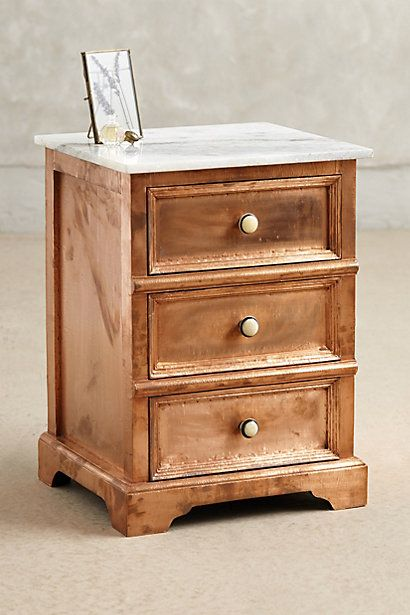 Copper Clad Nightstand - anthropologie.com
