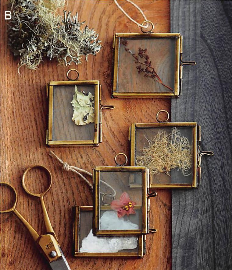 Roost Glass-Hinged Frame Ornaments - Set Of 3 - Sold Out | Glass ...