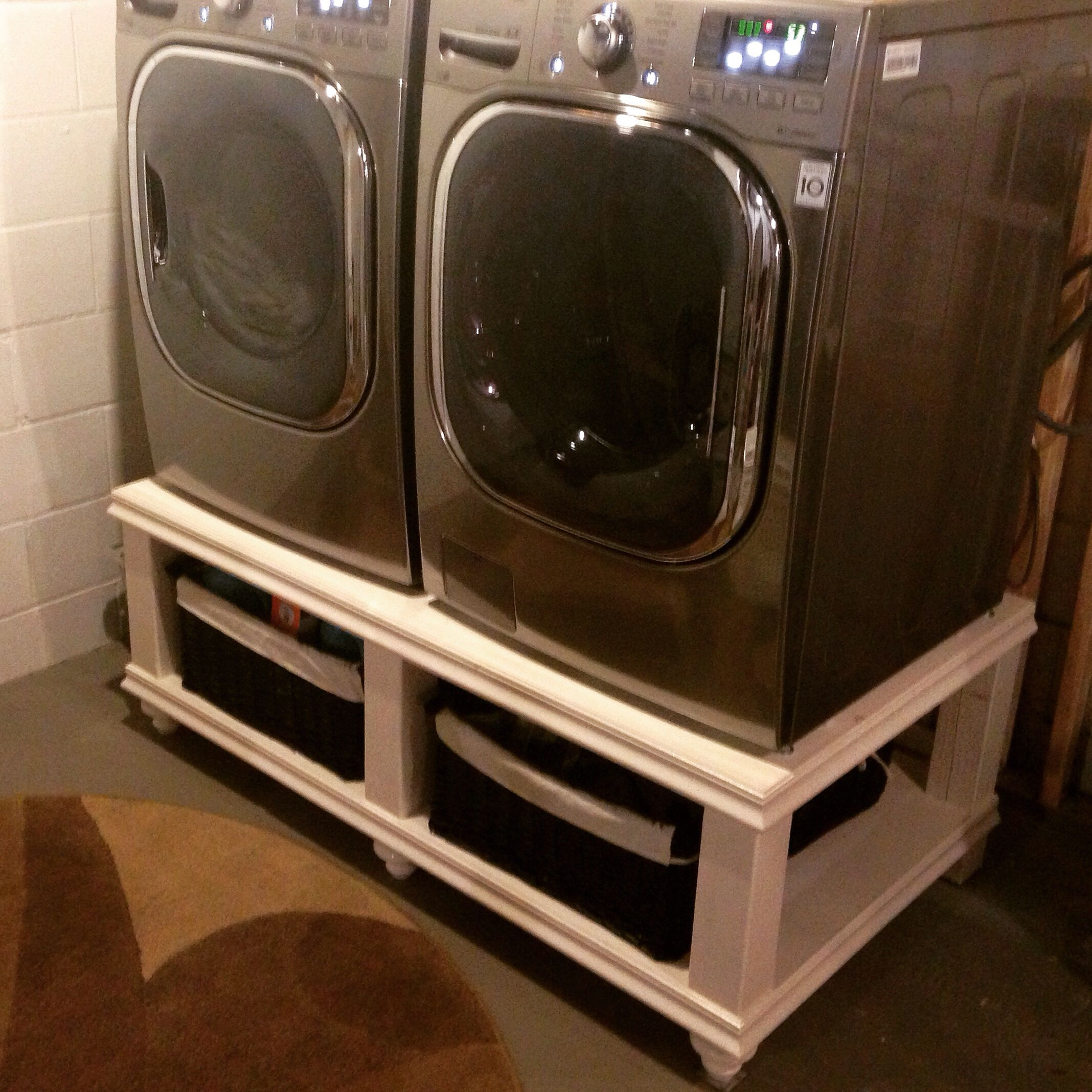 furniture washer ana dryer img pedestal white projects and diy