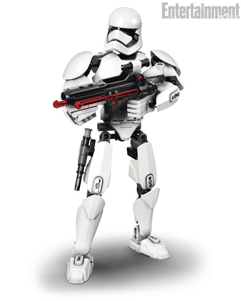 Episode 7 Lego StormTrooper. Looks pretty Cool!!