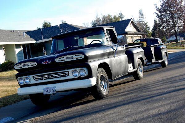 1961 Chevy Truck Apache Stepside Longbed Vintage Trucks Camo Truck Chevy Trucks