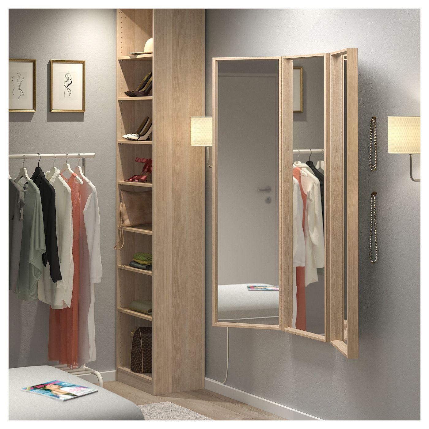 Nissedal Spiegelkombination Eicheneff Wlas Ikea Osterreich Miroir Dressing Miroir Ikea Nettoyer Vitres