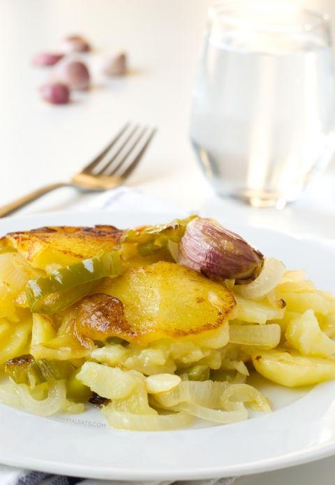 Patatas A Lo Pobre Poor Man S Potatoes Recipe Whole Food Recipes Recipes Poor Mans Recipes