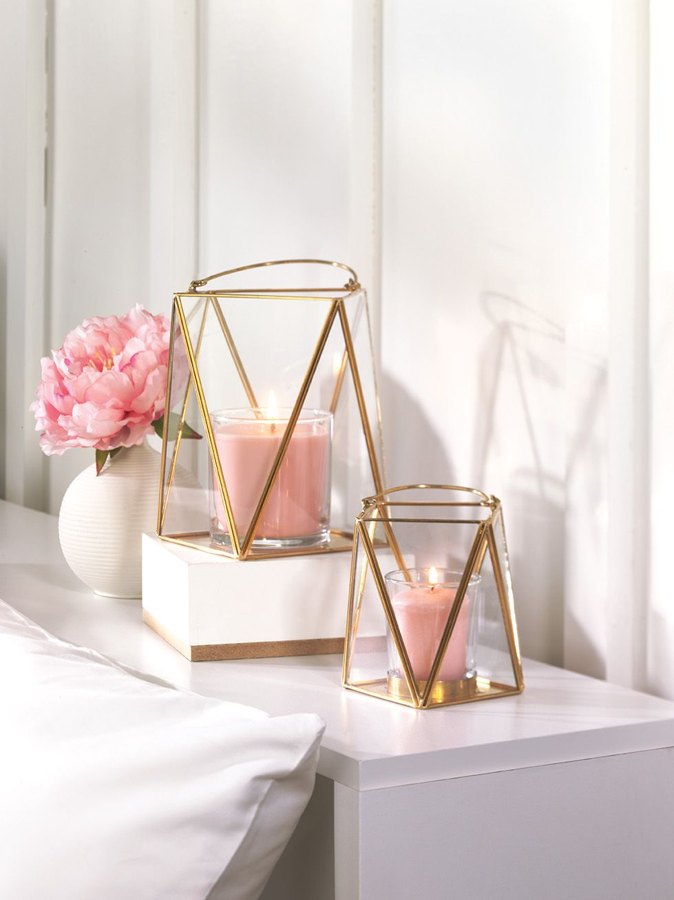 The Antique Charm Of A Candle Lit Lantern Interpreted Into