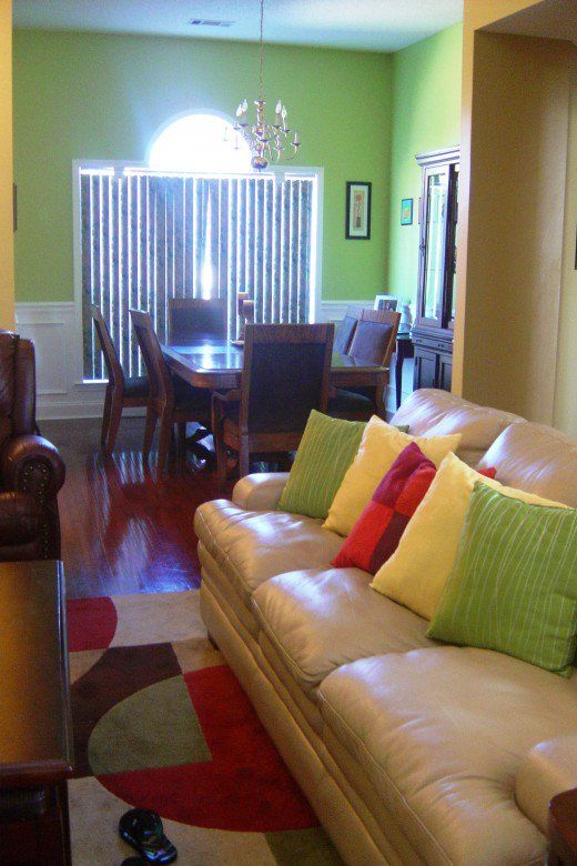 Diy Decorating Ideas For Lime Green Apple Green And Yellow Rooms