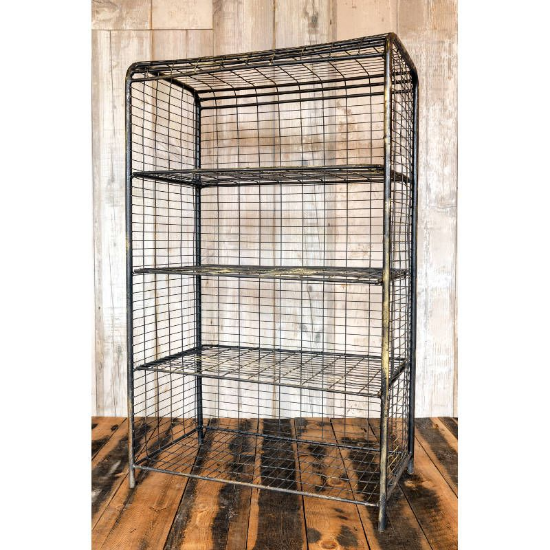 ancoats wire shelving unit vintage shelving andy