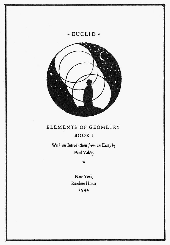 Euclid: Elements of Geometry, Book One, Random House, New