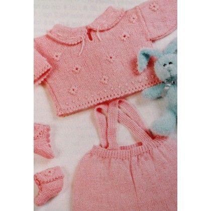 3222074262f25 Modèle brassière Pingorex Baby Layette Crochet Bébé