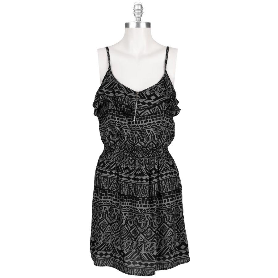 Six Degrees Juniors Zip Front Dress Vonmaur Zip Front Dress Fashion Clothes [ 900 x 900 Pixel ]