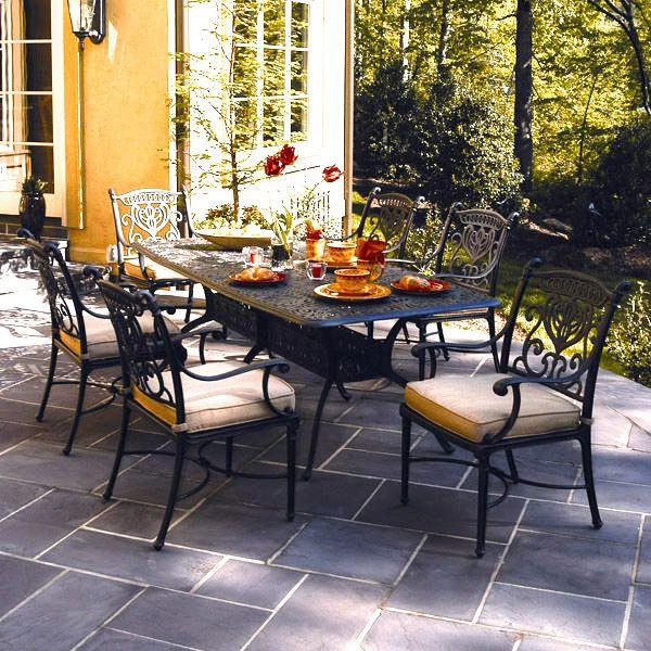 Hanamint Cast Aluminum Tuscany Patio Tables