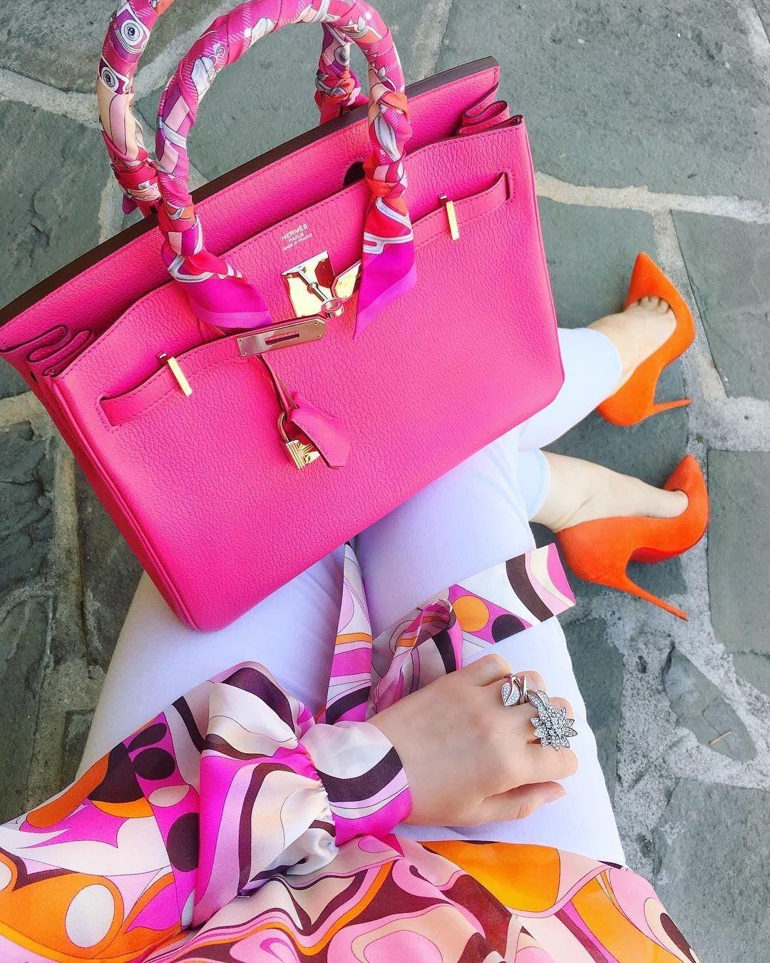 f56cbda63 Hermès Birkin in fuscia pink | moda elegante en 2019 | Bolsos ...