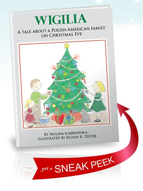 wigilia a childrens book written in english about a polish american family on christmas eve poland - How To Say Merry Christmas In Polish