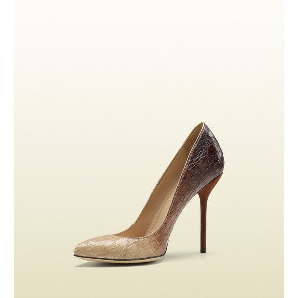 447279ee8ba1 Gucci Noah High Heel Stiletto Pump found on Polyvore featuring polyvore