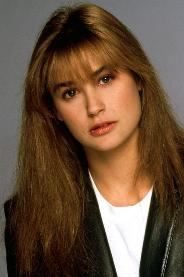 25 Pictures of Young Demi Moore | Demi moore, Young