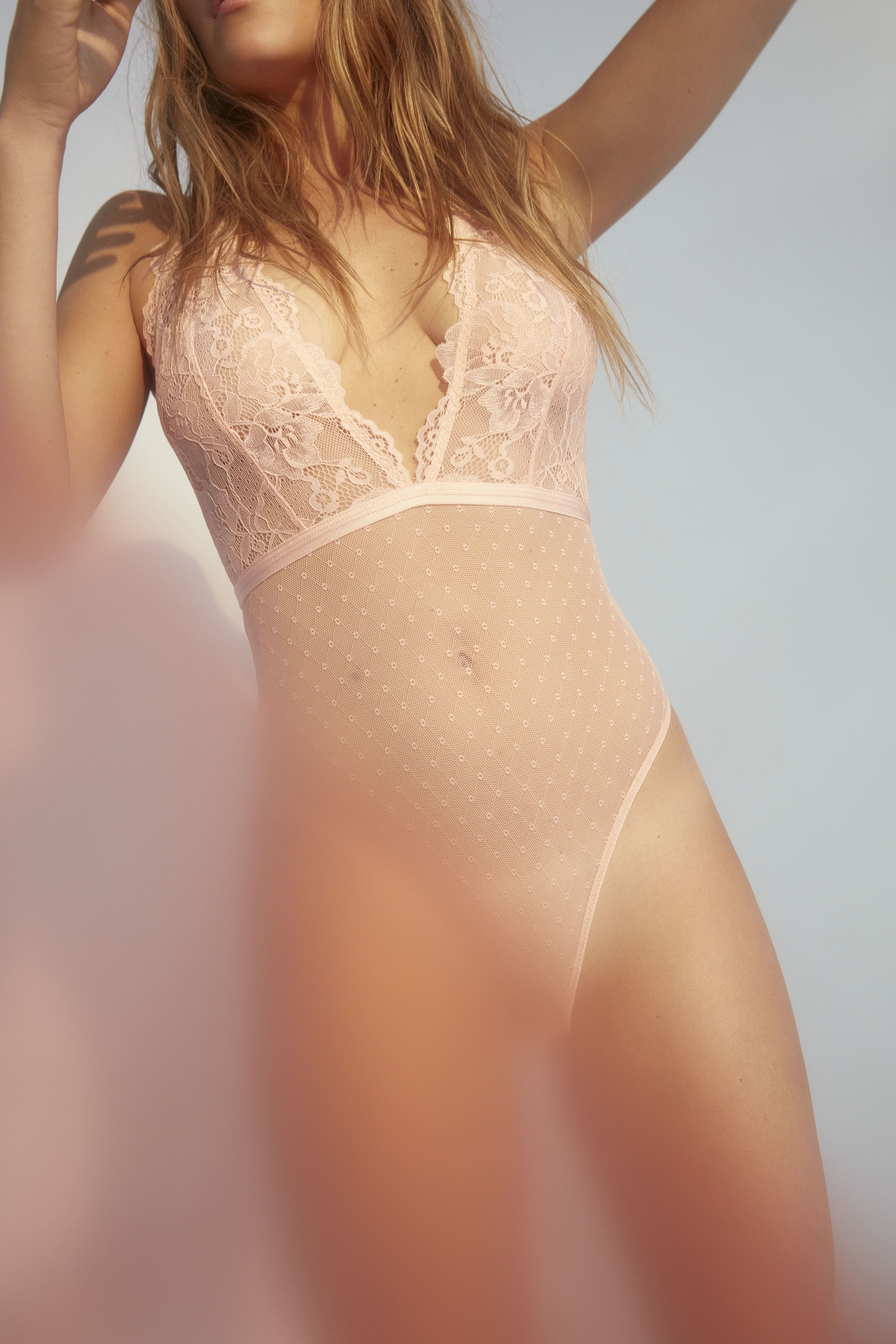 Blush lingerie see through Pin On The V Word