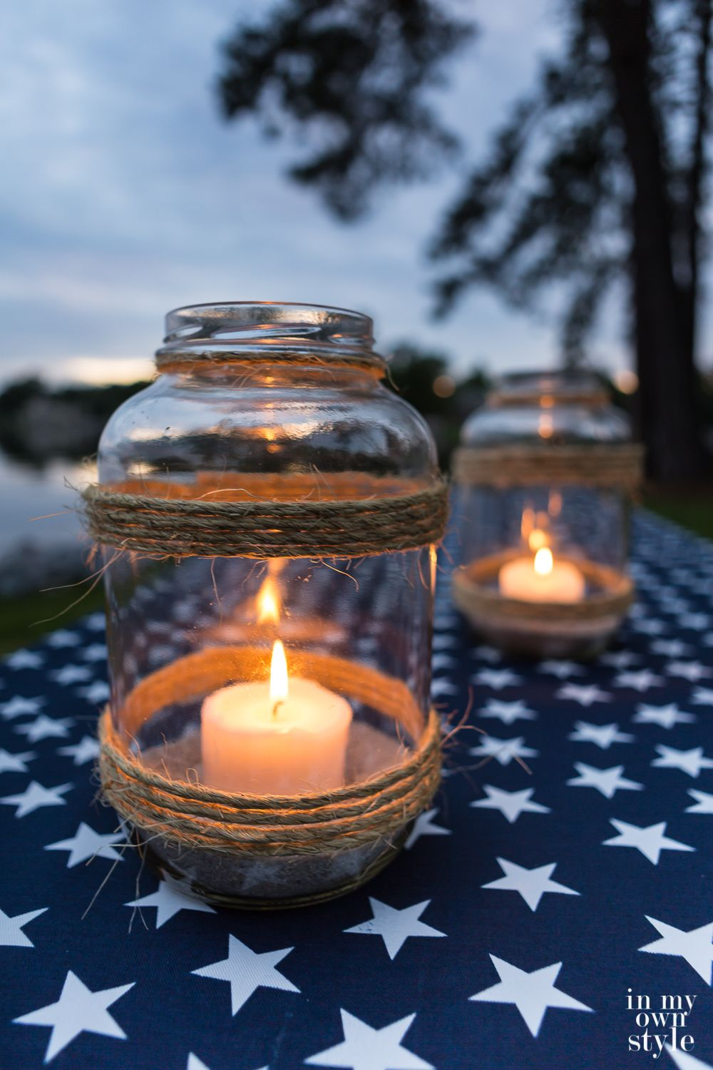 How To Make An Oversized Glass Candle Lantern Glass Jars Diy Glass Candle Lantern Outdoor Candle Lanterns