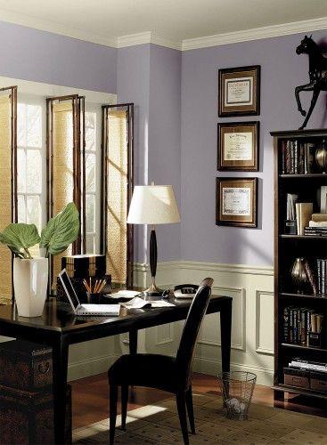 benjamin moore wisteria color purple home offices on benjamin moore office colors id=84553