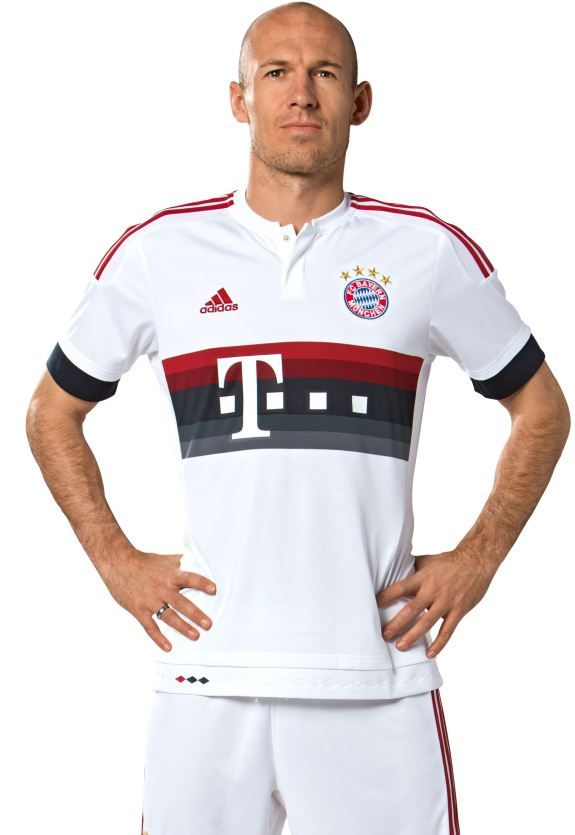ff53ca0f This is the new Bayern away shirt 2015/16, FC Bayern Munchen's new change  strip for the upcoming Bundesliga season. Made by Adidas, the strip was  officially ...