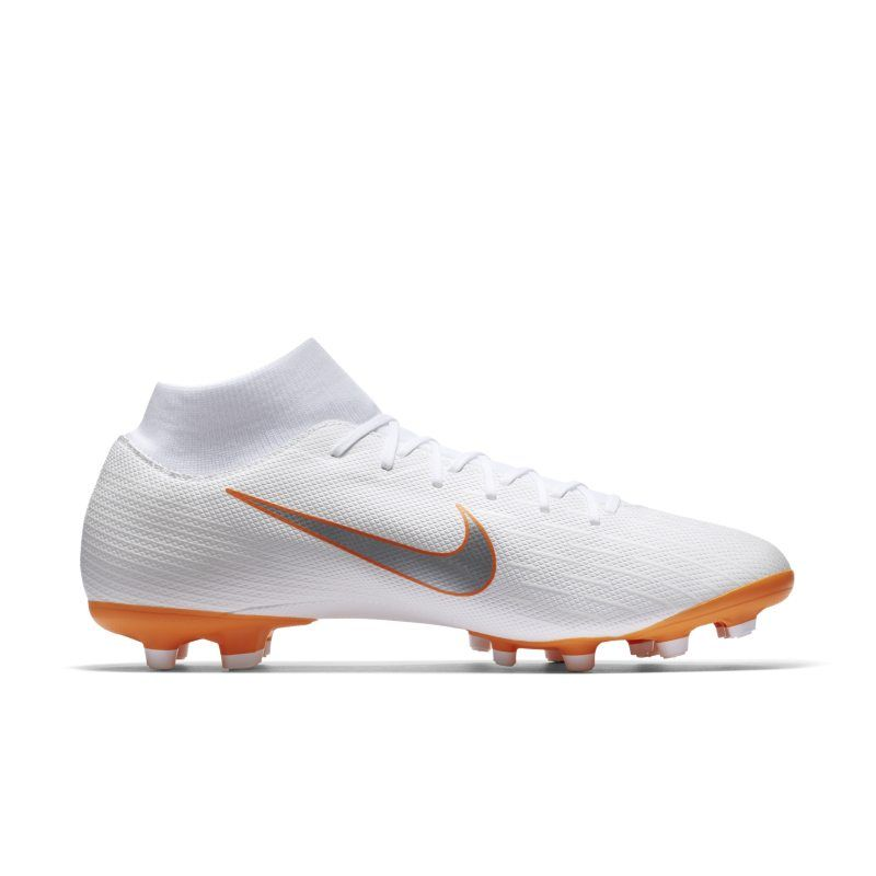 best service 4fa54 2d0f4 Nike Mercurial Superfly VI Academy MG Just Do It Multi-Ground Football Boot  - White