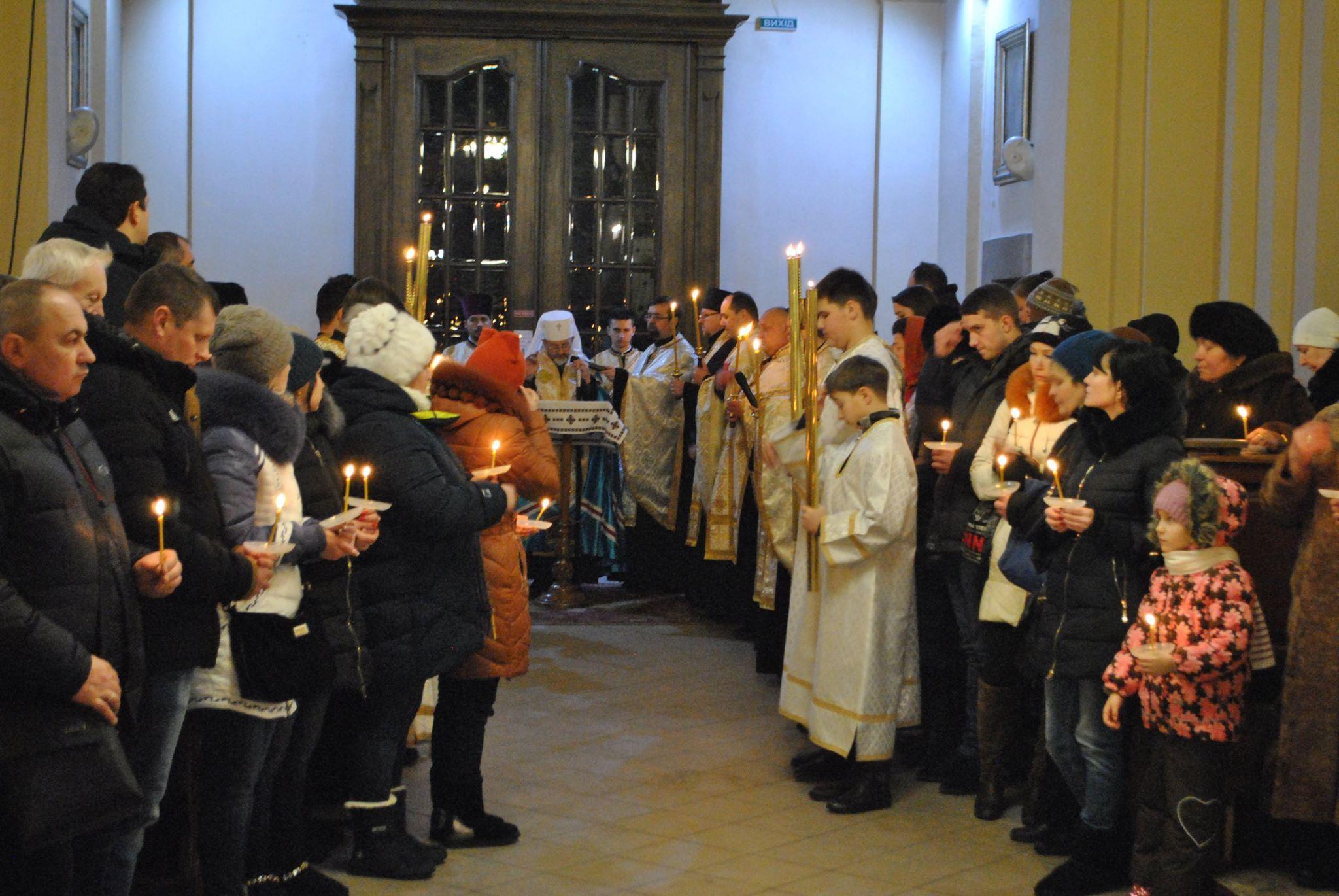 Велике Повечір'я з Литією в Архикатедральному Соборі св. Юра. ВІДЕО