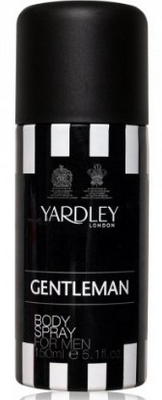 Yardley Gentleman Body Spray For Men 150 ml for Rs. 97 only from Amazon