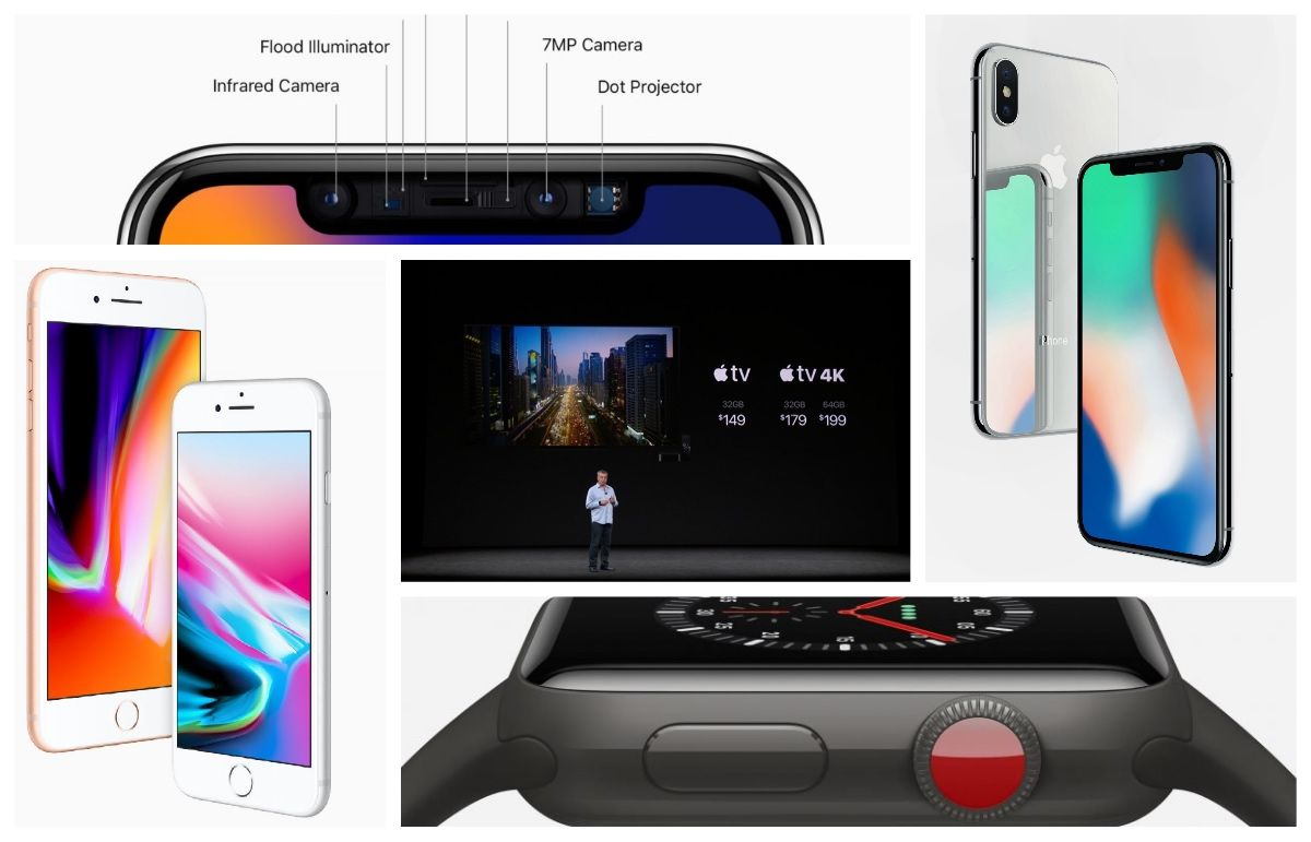 Products Launch In Apple Event 2017 Its Features
