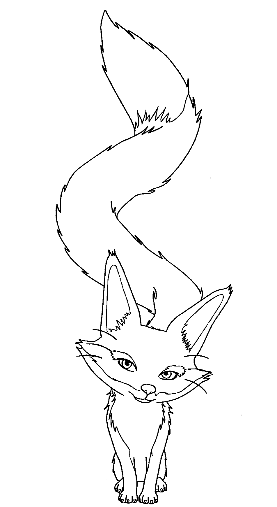 The little prince, Fox drawing, Prince drawing