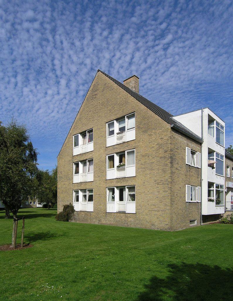 Arne Jacobsen Ibstrupparken Housing I Gentofte 1941 Med Billeder