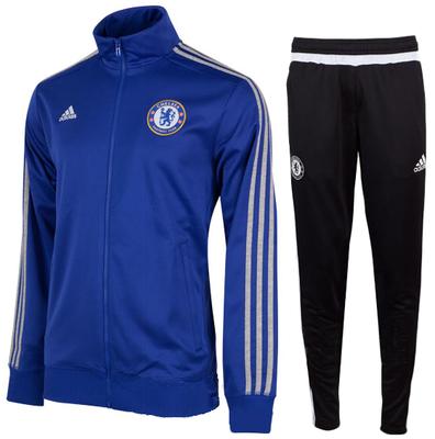 Survetement D'entraînement Homme Chelsea Bleu/Noir 2015 2016