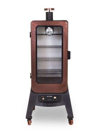 Pit Boss 3 Series Vertical Wood Pellet Smoker Black 901 Pit Boss Smoker Wood Pellets Digital Electric Smoker