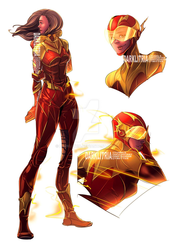 Image Result For Speedsters Deviantart  Superhero Art -1415