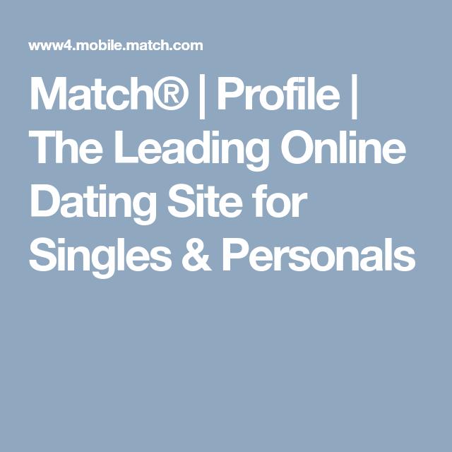 Mobile.match.com login