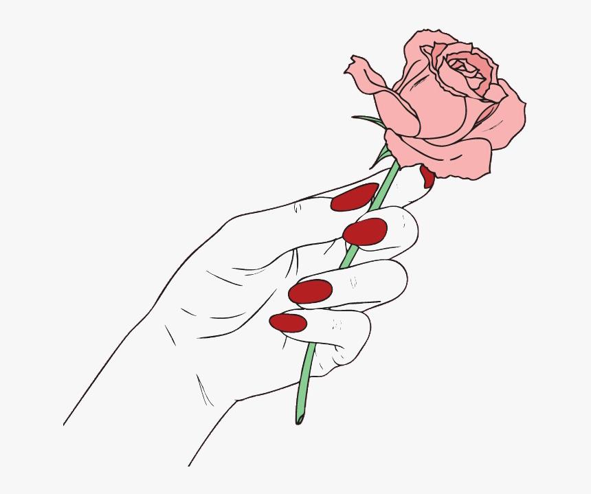 6ec7f940f9e9a0805175949b8eae5d71 » Aesthetic Rose Drawing