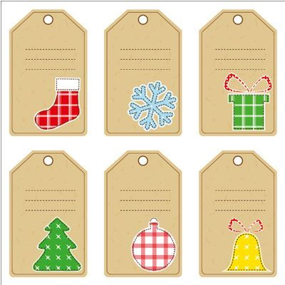 Des étiquettes de Noël à imprimer gratuitement #etiquettesnoelaimprimer etiquette5 #etiquettesnoelaimprimer