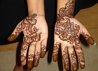 Mehndi Designs For Fingers Step By Step : Mehndi designs step by full hand mehandi for left