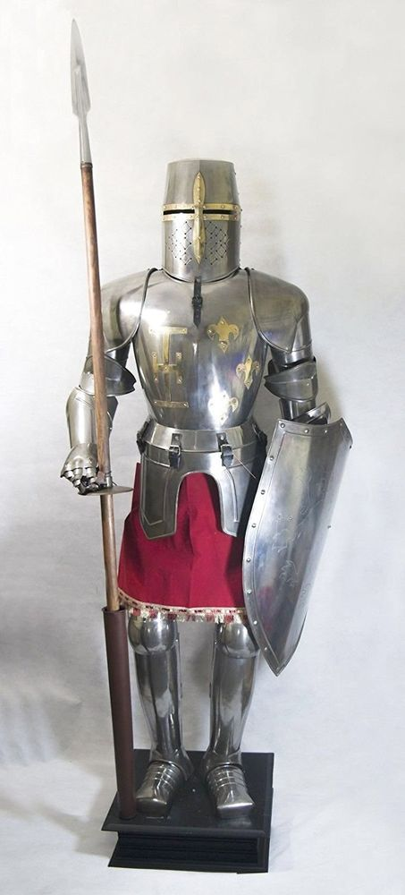 Plate Armour Knights Templar Suit of Armor Renaissance | Knights templar Knight and Renaissance & Plate Armour Knights Templar Suit of Armor Renaissance | Knights ...