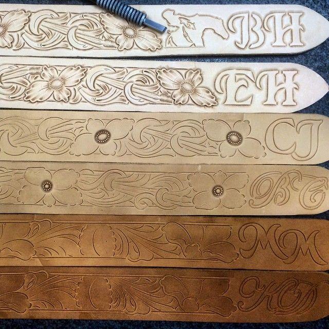 tooled belts tannercustomleather handtooledleather