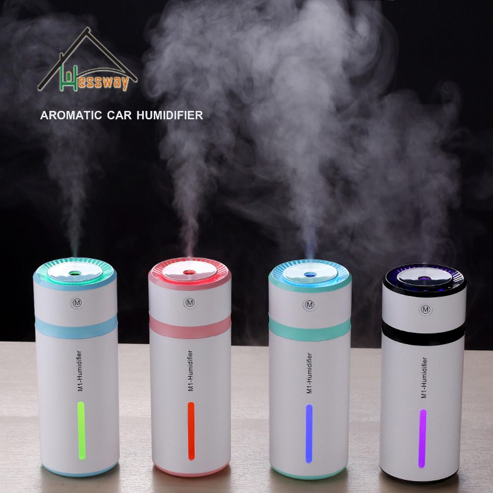 35MLH timing Cup Air Humidifier Diffuser Colorful Night