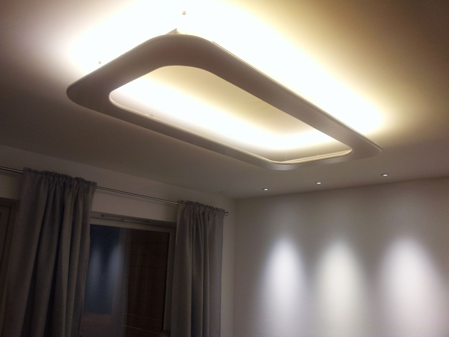 Planning LED Ceiling Lights for Home Interior -  http://www.ideas4homes.com/planning-led-ceiling-lights-for-home-interior/ |  Featured | Pinterest | Ceilings, ...