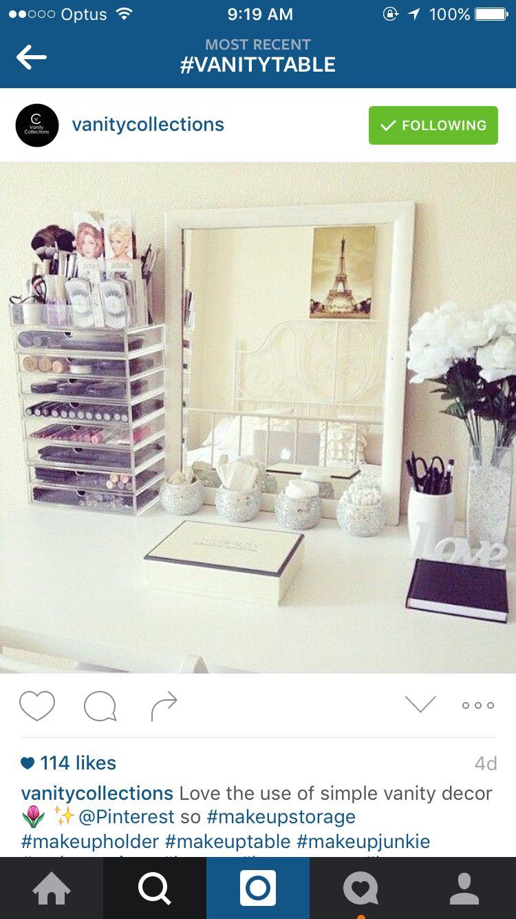 Makeup organisation makeup organisation u storage pinterest