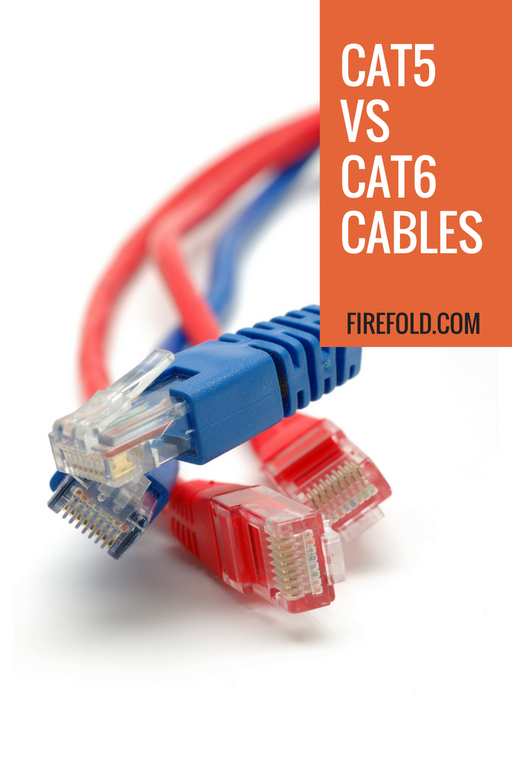Cat5 vs Cat6 Cable: What Are The Differences - FireFold | Cable and Tech